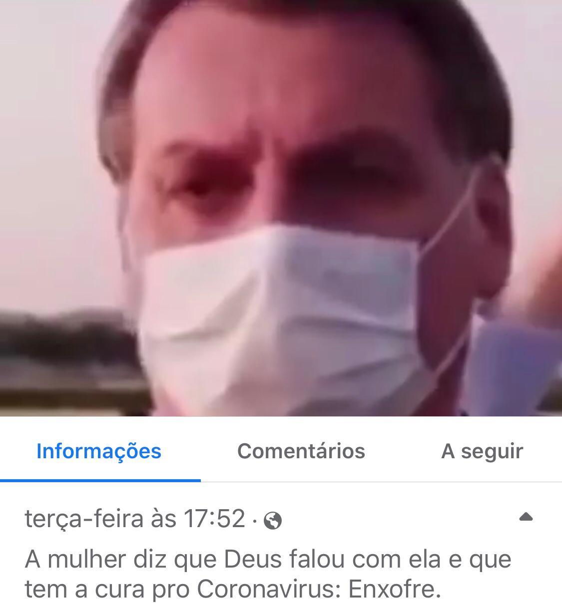 Enxofre NÃO cura coronavírus