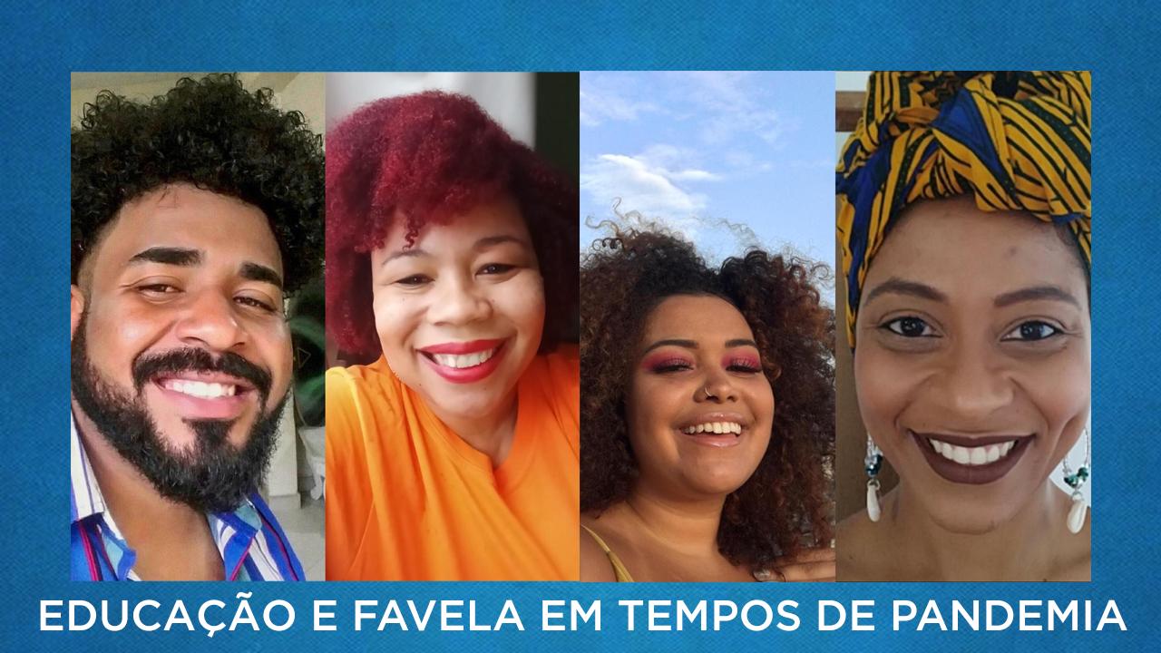 Voz das Comunidades faz live sobre educação à distância nas favelas nesta terça-feira (23)