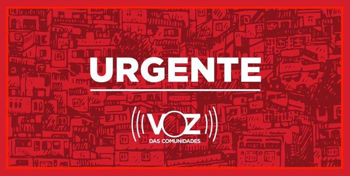 Equipe do Voz das Comunidades tem celular quebrado por PM durante operação no Alemão