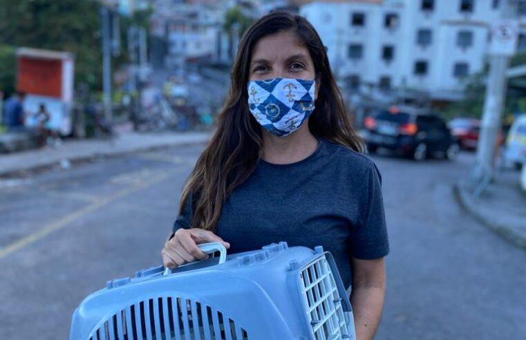 Moradora do Vidigal realiza ações de proteção animal em meio à pandemia