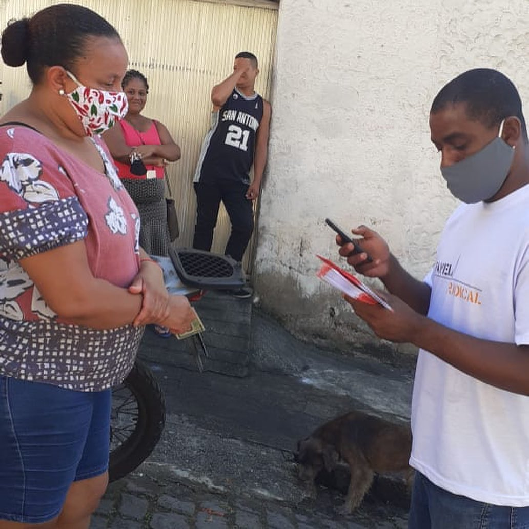 Idealizador do projeto Favela Radical ajuda no combate à Covid-19 no Turano