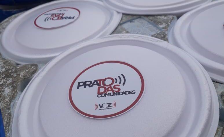 Projeto do Voz das Comunidades já distribuiu 50 mil quentinhas