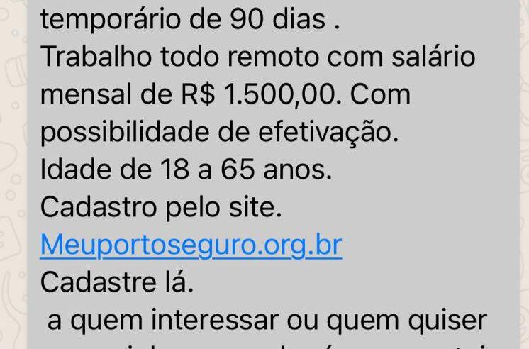 Porto Seguro cria programa de 10 mil empregos temporários na pandemia