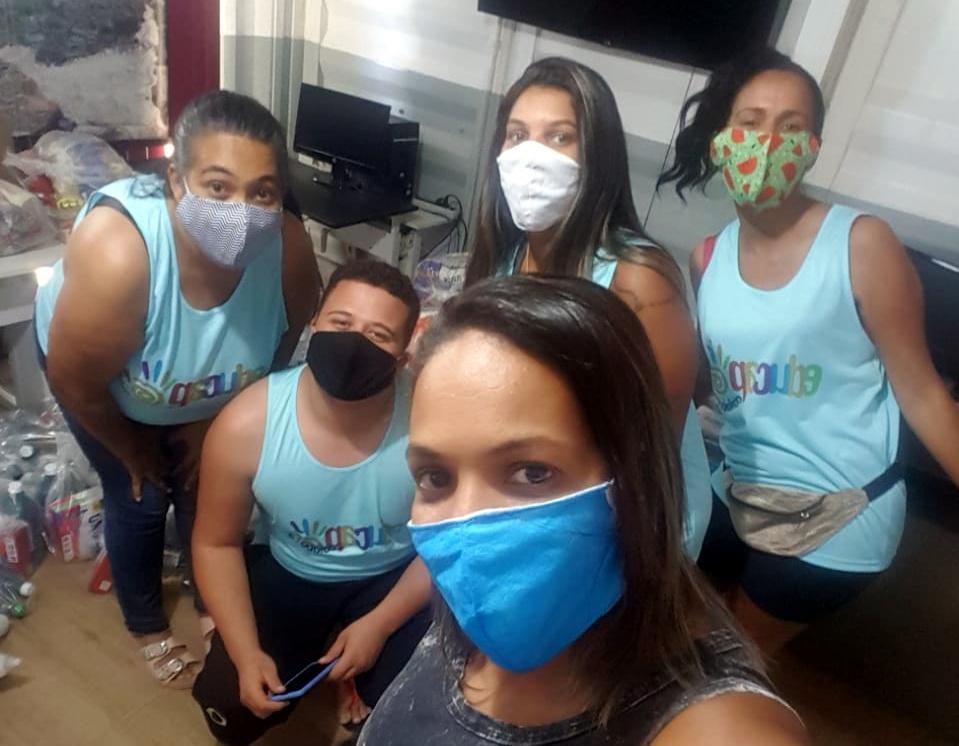 Projetos sociais na pandemia: crianças e jovens atendidos têm rotina alterada