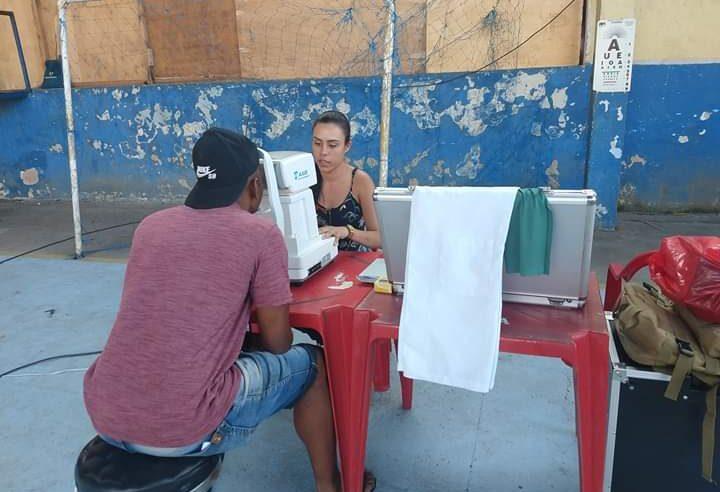 Projeto social leva exames de vista a preço popular para favelas