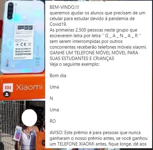 Xiaomi Brasil NÃO está doando celulares a estudantes em isolamento por causa da Covid-19