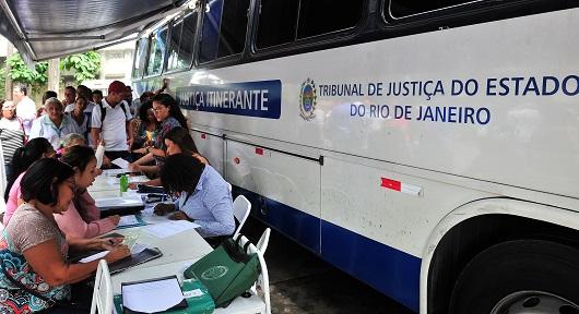 Disponível calendário do ônibus da Justiça itinerante para a Cidade de Deus